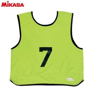 MIKASA(ミカサ) ゲームジャケット ソフトバレー用 レギュラーサイズ (1〜15番) GJSV-KG ビブス ゲームベスト 試合 練習用品|esports