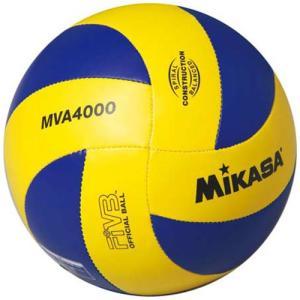 ミカサ(MIKASA) バレーボール4号 練習球 FIVB公認球レプリカモデル 黄/青 MVA4000 中学生 婦人用|esports