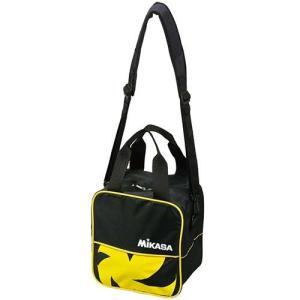 ミカサ(MIKASA) バレーボールバッグ 1個入用 VL1C-BKY 黒黄 練習 遠征 アクセサリー|esports