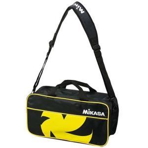 ミカサ(MIKASA) バレーボールバッグ 2個入用 VL2C-BKY 黒黄 練習 遠征 アクセサリー|esports