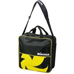 ミカサ(MIKASA) バレーボールバッグ 4個入用 VL4C-BKY 黒黄 練習 遠征 アクセサリー|esports