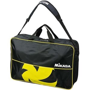 ミカサ(MIKASA) バレーボールバッグ 6個入用 VL6C-BKY 黒黄 練習 遠征 アクセサリー|esports