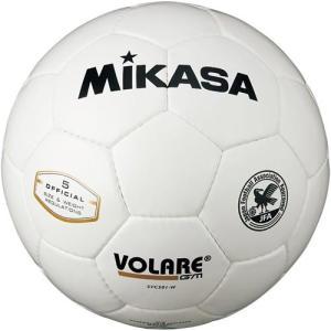 ミカサ(MIKASA) サッカーボール 検定球 白 SVC501-W サッカー 5号球 esports