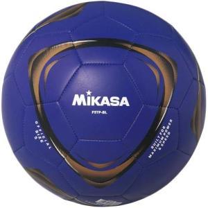 ミカサ(MIKASA) サッカーボール F5TP-BL ブルー 5号球 サッカー フットサル サッカーボール レクリエーション esports
