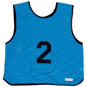 ミカサ(MIKASA) ゲームジャケット ソフトバレー 10枚組 ブルー GJSV10-B ビブス ゲームベスト 試合 練習用品|esports