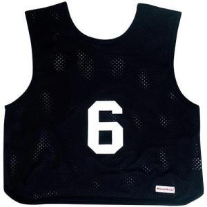 ミカサ(MIKASA) ゲームジャケット ソフトバレー 10枚組 ブラック GJSV10-BK ビブス ゲームベスト 試合 練習用品|esports