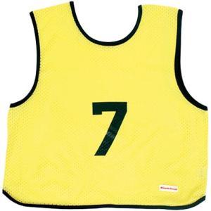 ミカサ(MIKASA) ゲームジャケット ソフトバレー 10枚組 蛍光イエロー GJSV10-KY ビブス ゲームベスト 試合 練習用品|esports