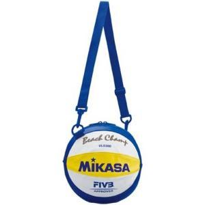 ミカサ(MIKASA) ビーチバレーボール用ボールバッグ1個入 BV1B 青/黄/白 ボールケース|esports