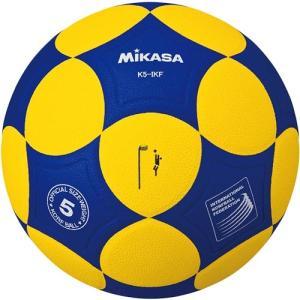 ミカサ(MIKASA) コーフボールIKF 貼り 黄青 K5-IKF コーフボール 5号球|esports