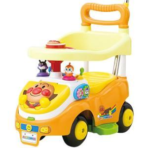 アガツマ アンパンマンよくばりビジーカー2 押し棒+ガード付き ベビー&キッズ おもちゃ 乗り物 乗用玩具 子供