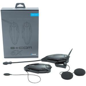 『B+LINK』6Xでは新技術『B+LINK』(ビーリンク)により、ヘルメットを被ったまま、同時にペ...