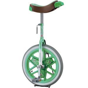 ブリヂストン(BRIDGESTONE) 一輪車 スケアクロウ 14インチ SCW14 グリーン 学校 体育 バランス 自転車 遊具|esports