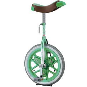 ブリヂストン(BRIDGESTONE) 一輪車 スケアクロウ 16インチ SCW16 グリーン 学校 体育 バランス 自転車 遊具|esports