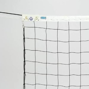 三和体育(SANWATAIKU) 一般用バレーネット 6人制 トワロン(検定A) S-3711 設備 用具 球技用品 バレーボールネット ワイヤー|esports