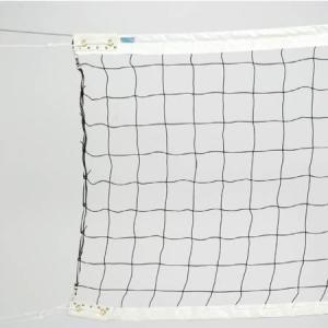 三和体育(SANWATAIKU) 一般用バレーネット 6人制 新規格(検定A) S-3718 設備 用具 球技用品 バレーボールネット ワイヤー|esports
