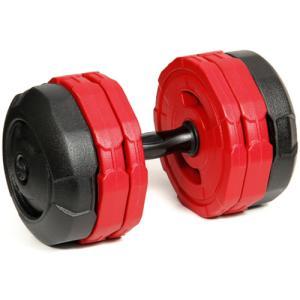 アーミーダンベル 20kg 単品 レッド LEDB-20R 筋トレ ベンチプレス ウエイトトレーニング 15kg 10kg
