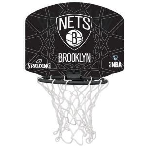 スポルディング(SPALDING) 2015マイクロミニボード ネッツ 77-630Z ブラック バスケットボール アクセサリー 室内用ゴール 壁掛け 練習用 esports