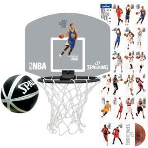 スポルディング(SPALDING) マイクロミニボード NBA選手シール付 77-644Z NBA 室内 ミニゴール ギフト esports