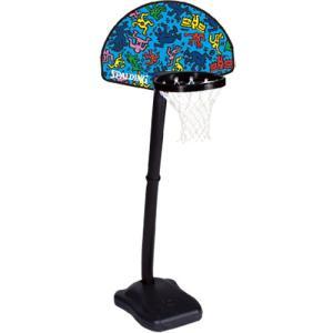 スポルディング(SPALDING) キース・へリング ユース ワン オン ワン 5H884JP バスケットボール バックボード ストバス 部活 新入部 esports