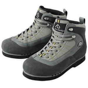 アングラーズデザイン(Anglers Design) アドバンスウェーディングシューズ スパイク底 Sサイズ グレー AWS-04 釣り フィッシング 靴|esports
