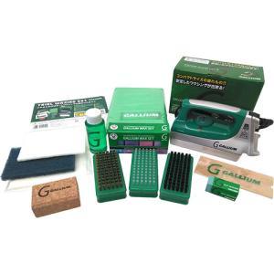 ガリウム(GALLIUM) トライアルワクシングセット Trial Waxing Set JB000...