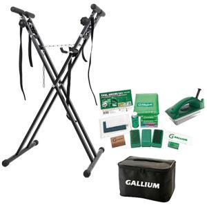 ガリウム(GALLIUM) トライアルワクシングセット & ワックススタンド スノーボード スキー 兼用作業台 ブラック JB0009/ESWT-002BK スノーボード