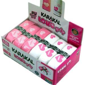 カラカル(KARAKAL) PU SUPER LOVE GRIP 2色12個入 KA 681 スカッシュ バドミントン テニス ラケットボール グリップ アクセサリー|esports