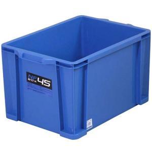 アステージ(ASTAGE) NFボックス #45 ブルー AST-026 DIY 収納ボックス 工具箱 プラケース 収納コンテナ esports