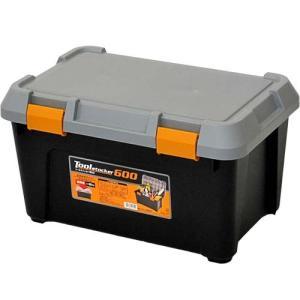 アステージ(ASTAGE) ツールストッカー 600 ブラック AST-102 DIY 収納ボックス 工具箱 プラケース 収納コンテナ|esports