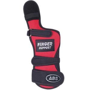 ABS(アメリカン ボウリング サービス) フィンガーサポート レッド/ブラック RD/BK ボウリンググローブ リスタイ サポーター ボーリング|esports