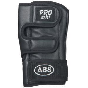ABS(アメリカン ボウリング サービス) プロリスト ブラック BK ボウリンググローブ リスタイ サポーター ボーリング|esports