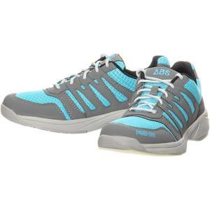 ABS(アメリカン ボウリング サービス) ボウリングシューズ S-550 ブルー/グレー 右投げ用 ボウリングシューズ メンズ レディース ボーリング|esports