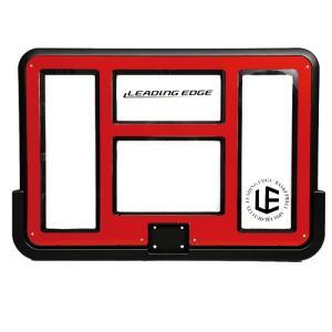 リーディングエッジ バスケットボール ゴール クリア LE-BS305R 専用バックボード バスケットゴール交換用パーツ 単品|esports