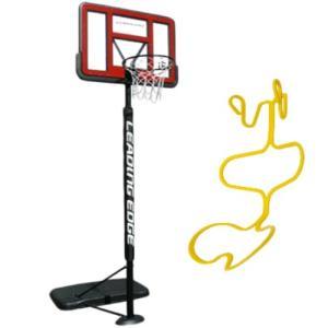 リーディングエッジ バスケットボール ゴール クリア ボール リターン セット LE-BS305R ポリカーボネート 屋内外 ミニバス バスケットゴール プレゼント|esports