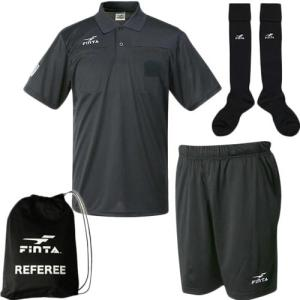 フィンタ(FINTA) メンズ サッカー レフリー3点セット FT7443 フットサル レフェリー ...