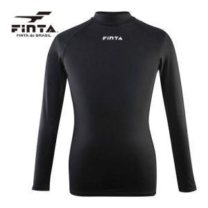 フィンタ(FINTA) ジュニア サッカー Jr. ハイネック インナーシャツ ブラック FTW70...