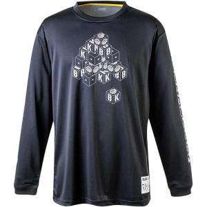 バイク(BIKE) メンズ バスケットボールウェア ロングプラクティスシャツ ブロック ブラック B...