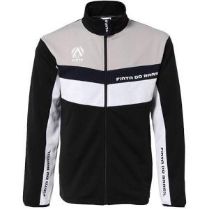 フィンタ(FINTA) メンズ サッカー トレーニングジャケット ブラック×ホワイト FF2104 ...