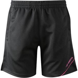 フィンタ(FINTA) レディース バレーボールウェア プラクティス パンツ ブラック×ピンク FV2046 0572 esports