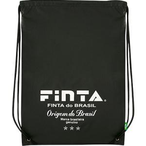 フィンタ(FINTA) ランドリーバッグ(大) ブラック×ホワイト FT6721 0501 フットサル サッカー ナップザック 収納袋 着替え・洗濯|esports