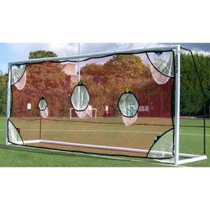 クイックプレイ(QUICKPLAY) 組み立て式 サッカーゴール MF216用 ターゲットネット 5m×2m 少年サッカー8人制サイズ サッカー シュート練習 オプション