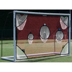 クイックプレイ(QUICKPLAY) 組み立て式 サッカーゴール MF2F用 ターゲットネット 3m×2m フットサル公式サイズ サッカー シュート練習 オプション