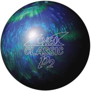 ハイ スポーツ(Hi-SP) ネオクラシックP2(BU/GR) ブルー×グリーン P-115-2 ボウリングボール ボーリング|esports