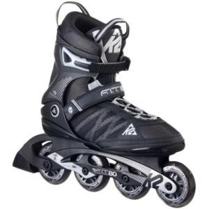 ケーツー(K2) メンズ インラインスケート F.I.T 80 エフアイティー 80 ブラック/シルバー I160200301 ローラースケート 大人用 四輪