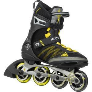 ケーツー(K2) F.I.T X PRO メンズ インラインスケート ガンメタル/イエロー I150201201 クリスマス プレゼント ローラースケート ローラーブレード 大人用