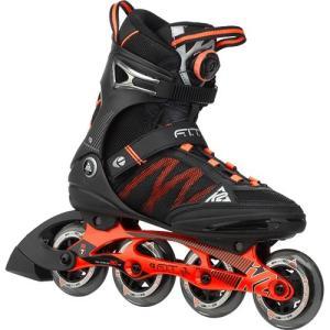 ケーツー(K2) F.I.T BOA メンズ インラインスケート ブラック/オレンジ I150201401 クリスマス プレゼント ローラースケート ローラーブレード 大人用