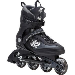 ケーツー(K2) KINETIC 80 PRO M キネティック 80 プロ メンズ インラインスケート ブラック/ホワイト I180202101 ローラースケート ローラーブレード 大人
