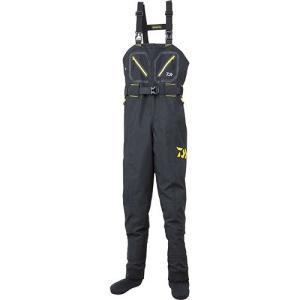 ダイワ(DAIWA) タイトフィットソルトストッキングウェーダー ソックス先丸 ブラック SW-4001S-T 釣り フィッシング 長靴 ウェーダー|esports