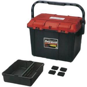 リングスター(RING STAR) ドカット RB(レッド/ブラック) D-4700 収納ボックス 釣り具 工具箱 ケース フィッシング|esports