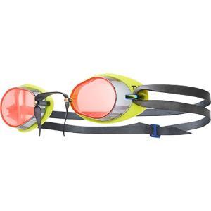 ティア(TYR) スイムゴーグル FINA承認 SOCKET ROCKET 2.0 MIRRORED LGL2M RDYL 水泳用ゴーグル トライアスロン|esports